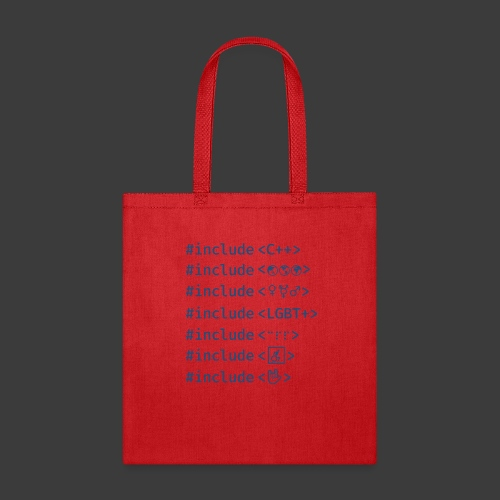 Blue Include List - Tote Bag