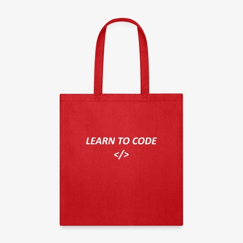 Learn to code - Tote Bag