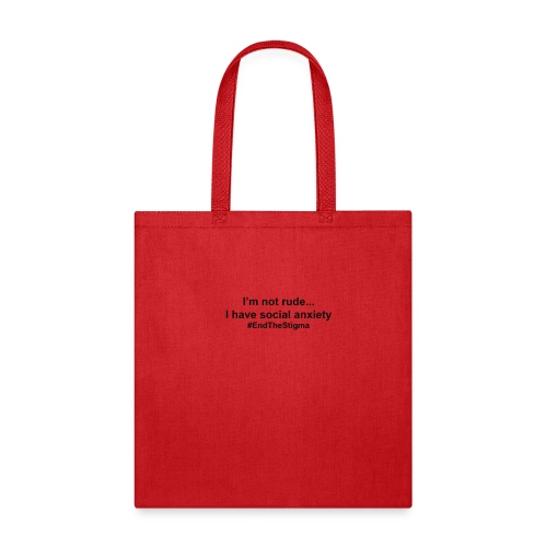I m Not Rude I Have Social Anxiety - Tote Bag