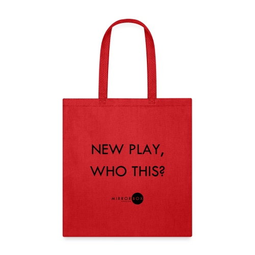 NEW PLAY WHO THIS - Tote Bag