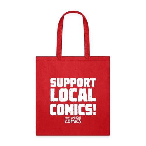 SUPPORT LOCALCOMICS! - Tote Bag