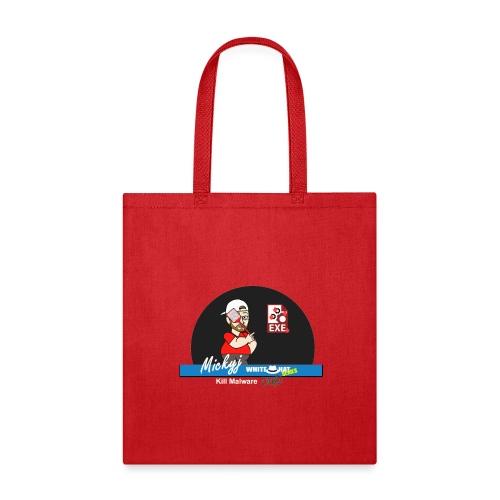 Mickyj - Kill malware dead (Red) - Tote Bag