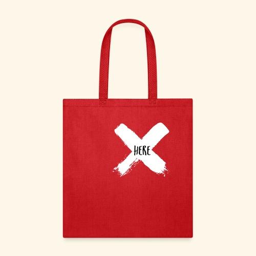 White X - Tote Bag
