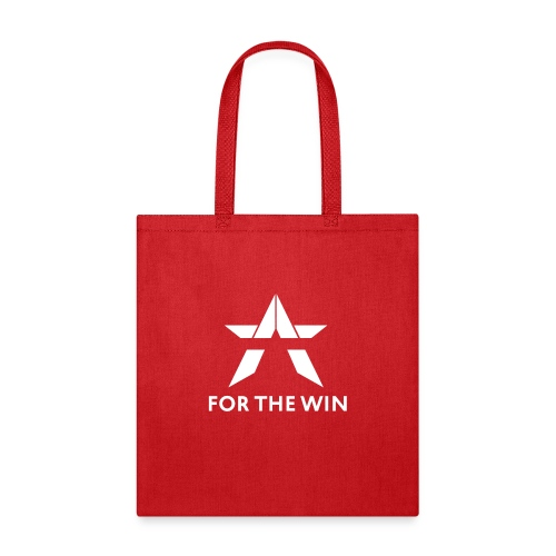 For The Win Red & Black Merch - Tote Bag