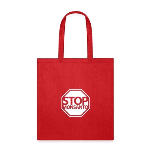Stop Monsanto SiGN - Tote Bag