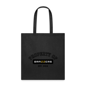 Property of Brazzers logo outline - Tote Bag