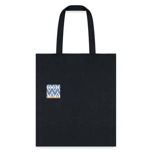ikat print bag - Tote Bag