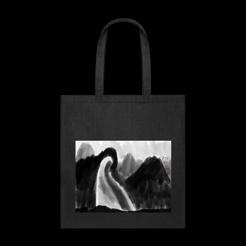 Ghost atop a mountain - Tote Bag