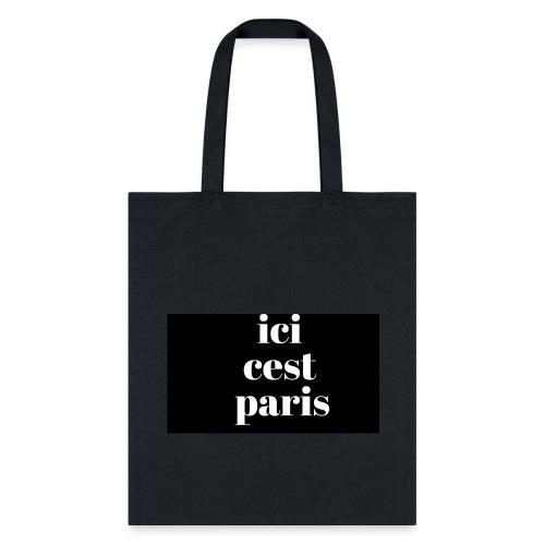 ici ces paris - Tote Bag