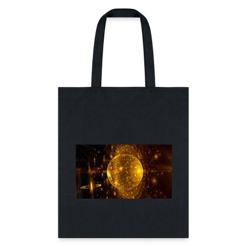Golden Planet - Tote Bag