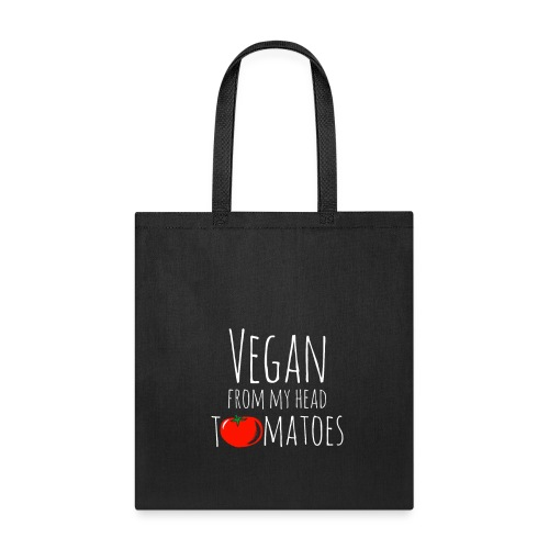 Vegan from my head tomatoes - Tote Bag