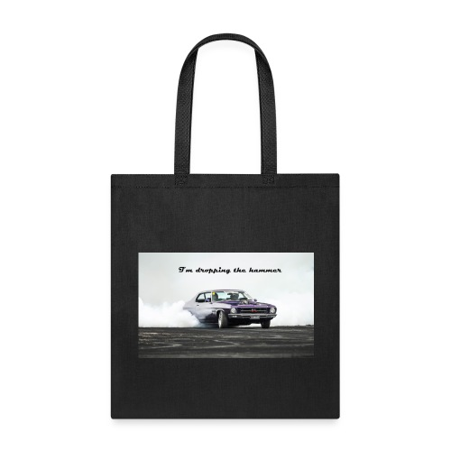 droping the hammer - Tote Bag