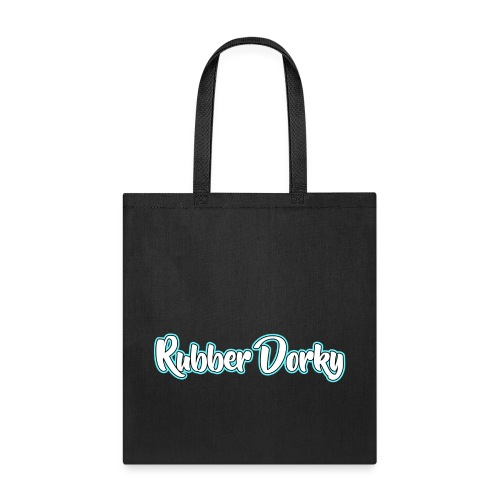 Rubber Dorky - Logo (name) - Tote Bag