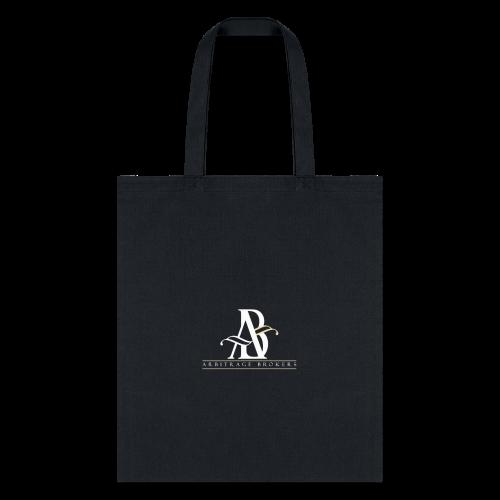 Arbitrage White Logo - Tote Bag