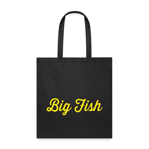 Big Fish Outlined - Tote Bag