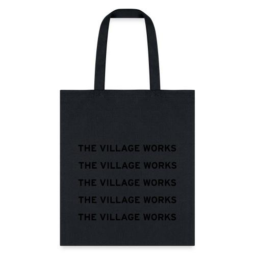 TVW Shirt Vector Black - Tote Bag