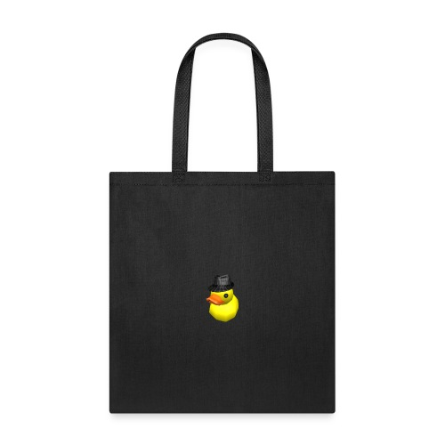 limited time duck with fedora - Tote Bag
