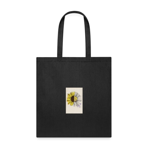 sunflower quote - Tote Bag