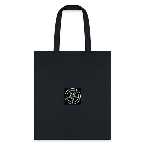 baphomet pentagram - Tote Bag