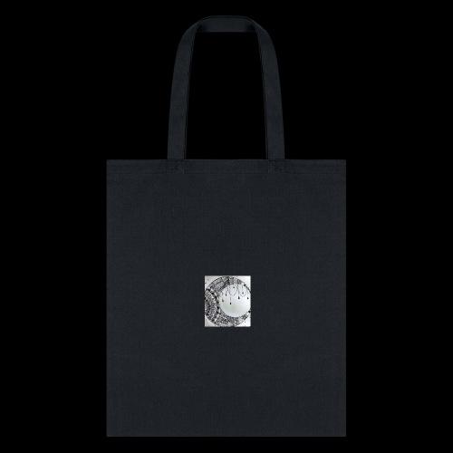 Black Grey Dream Moon Catcher - Tote Bag