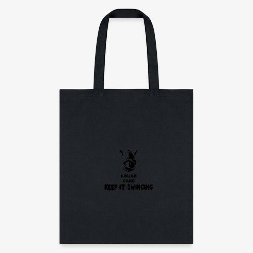 ninjah gang keep it swinging - Tote Bag