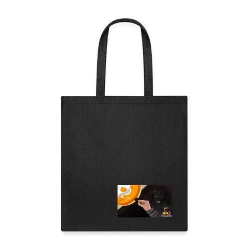 Percent of Bitcoin Transactions - Tote Bag