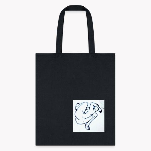 Sitting Woman - Tote Bag