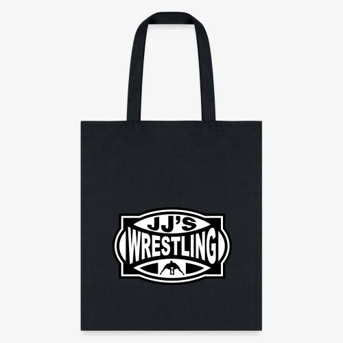 JJs Club Wrestling Logo Mono - Tote Bag