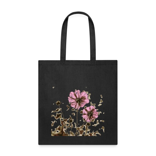 Burnt Flower - Tote Bag