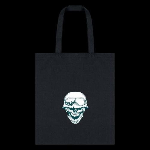 calabera militar - Tote Bag