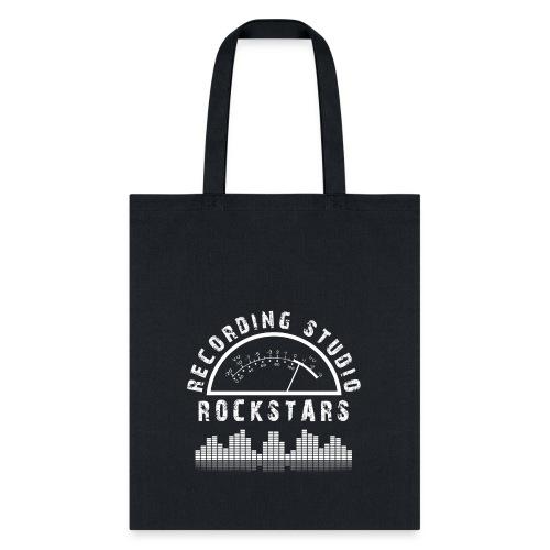 Recording Studio Rockstars - White Logo - Tote Bag