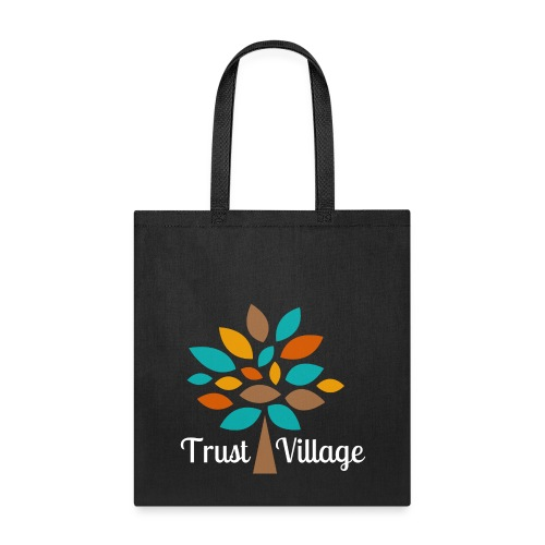 Official Trust Village Apparel (white wording) - Tote Bag
