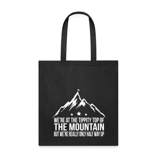 Tippity top of the mountain Purple - Tote Bag