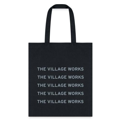 TVW Shirt Vector White - Tote Bag