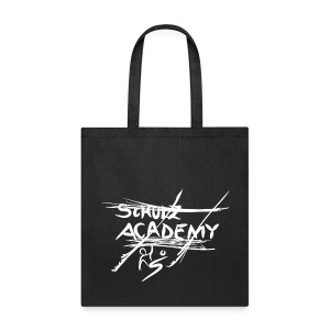 # schulz academy log white - Tote Bag