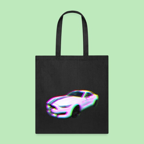 Mustang Glitch - Tote Bag