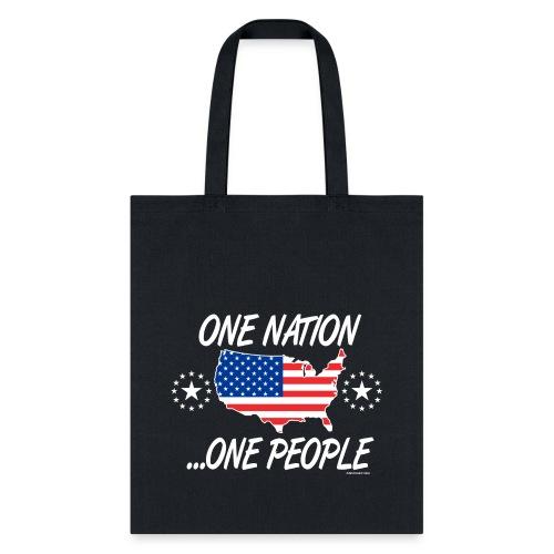 One Nation One People 2012 FRONT TRANSPARENT BACKG - Tote Bag