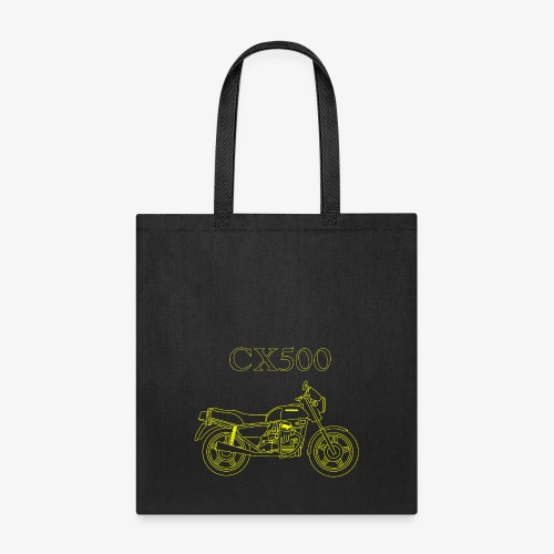 CX500 line drawing - Tote Bag