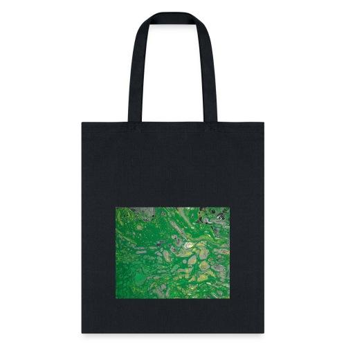 Green bubbles - Tote Bag