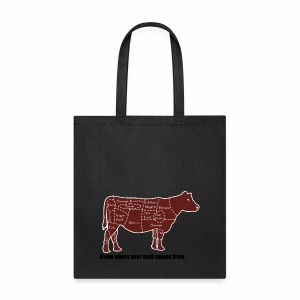 Cuts of the Cow - Tote Bag