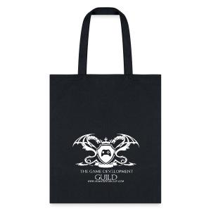 White Game Development Guild Crest - Tote Bag