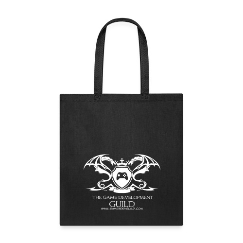 White Game Development Guild Crest - Tote Bag