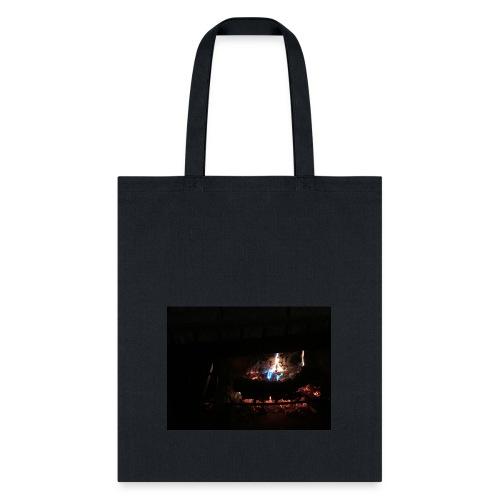 colorful flames - Tote Bag
