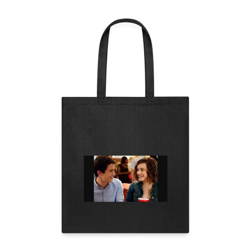 Clay and Hannah together - Tote Bag