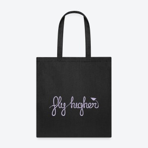Fly Higher - Light Purple - Tote Bag