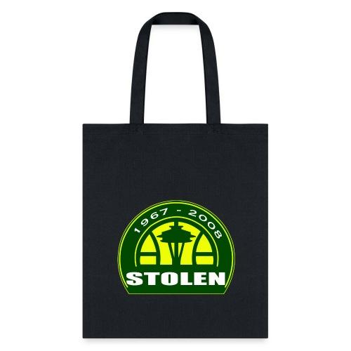 Seattle Supersonics STOLEN Shirt - Tote Bag