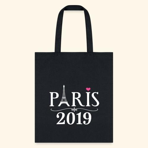 Paris France 2019 Eiffel Tower - Tote Bag