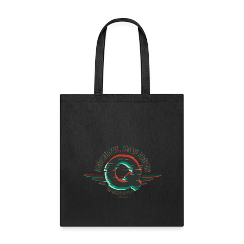 Q - Digital Soldier - Tote Bag