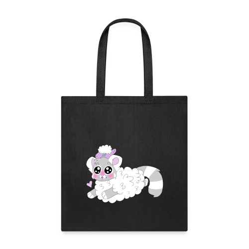 cute red panda in sheep cosplay - Tote Bag