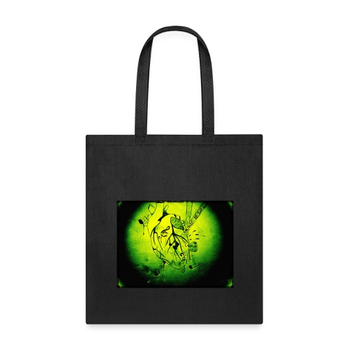 Music is Life-green - Tote Bag